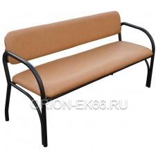 Скамейка со спинкой №3