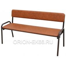 Скамейка со спинкой №2