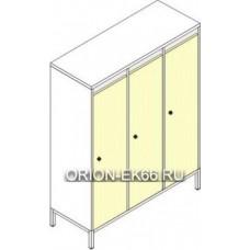 Шкафы для детской одежды ШДм-3