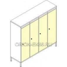 Шкафы для детской одежды ШДм-4