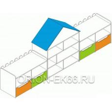 Стенка  Теремок ДС-1