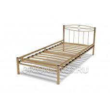 Кровать №1 80, 90 металлическая