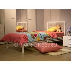 Кровать №5 90 металлическая