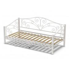Кровать №6 90 металлическая