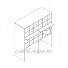 Шкаф картотечный Лц.ШдК-24