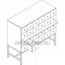 Шкаф картотечный Лц.ШдК-24м