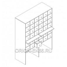 Шкаф картотечный Лц.ШдК-36