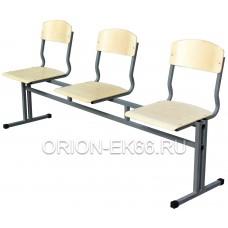 Блок ученических стульев